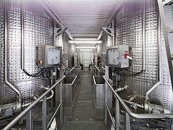 Neubau Pressenanlage Weinkellerei Riegelhofer, Poysdorf